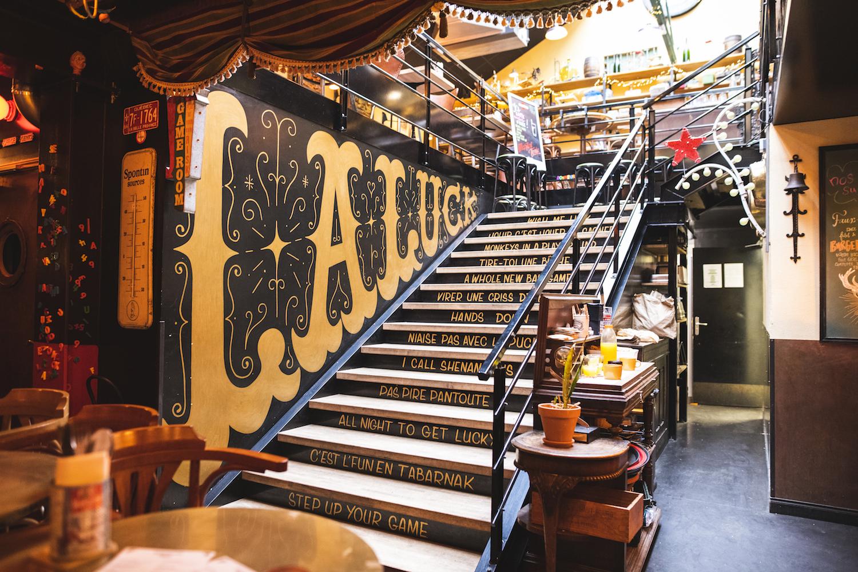 La luck escalier lille bar restaurant