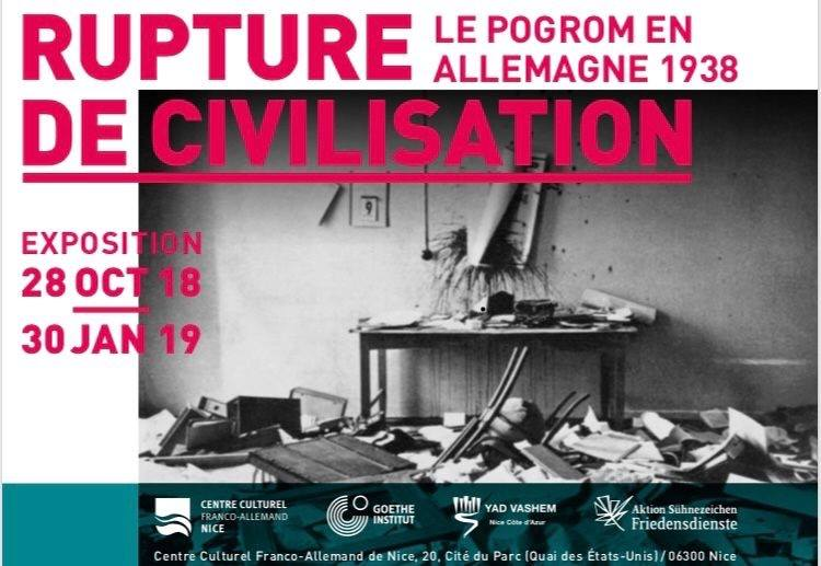 rupture de civilisation nice expo