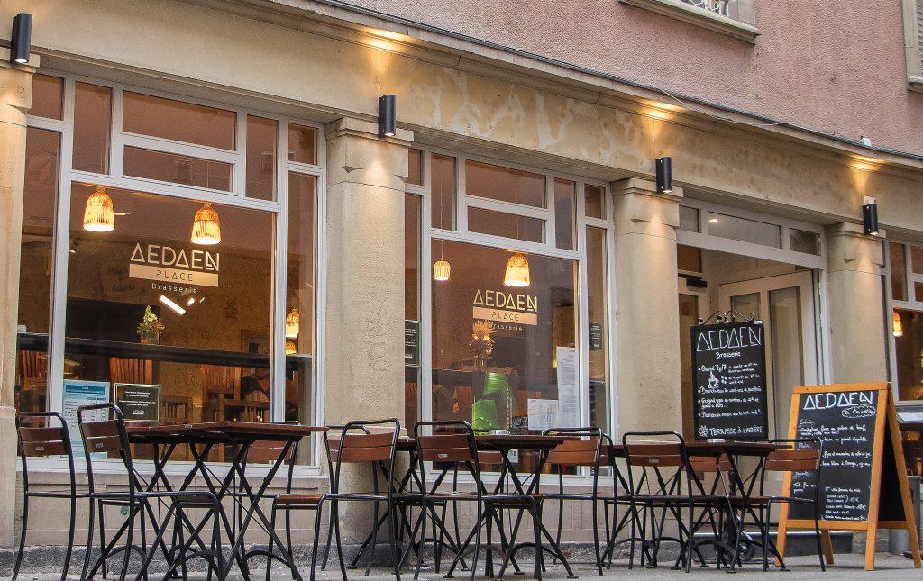 La brasserie de l'Aedaen Place