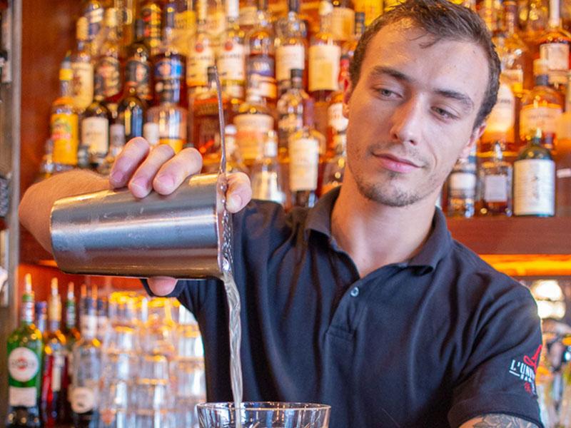 L'Univers Speakeasy nantes bartender