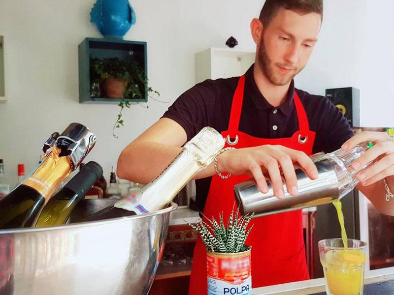 L'Orso Italiano toulouse bartender