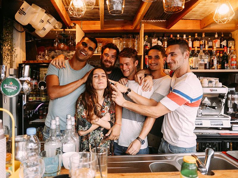 L'Altra Casa restaurant nice bartender