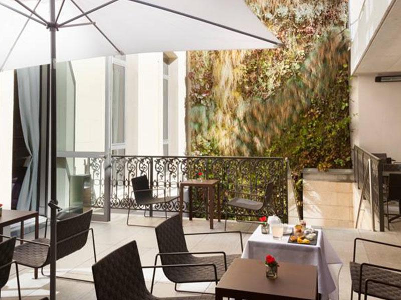 hotel C2 terrasse marseille