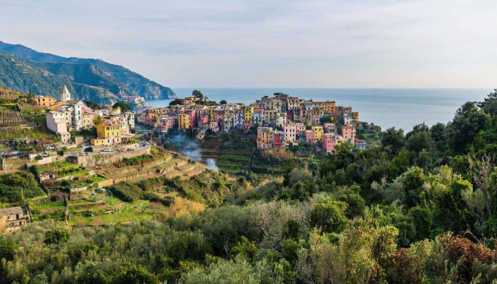 materrazza aperitivo Cinque Terre toscane paysage