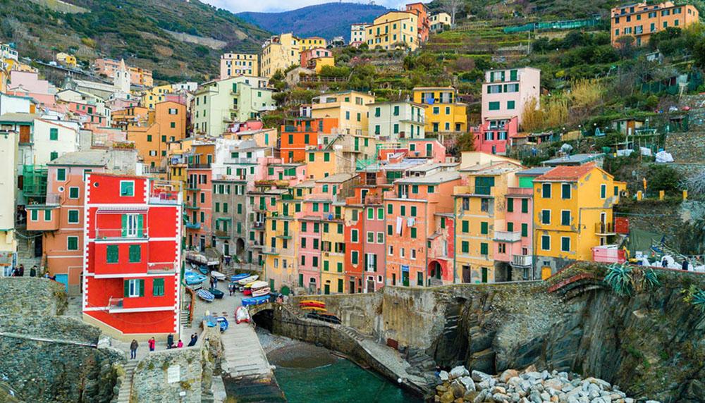 materrazza aperitivo Cinque Terre toscane couleur