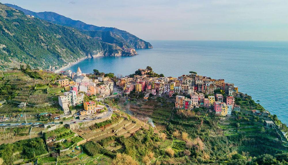 materrazza aperitivo Cinque Terre toscane vue