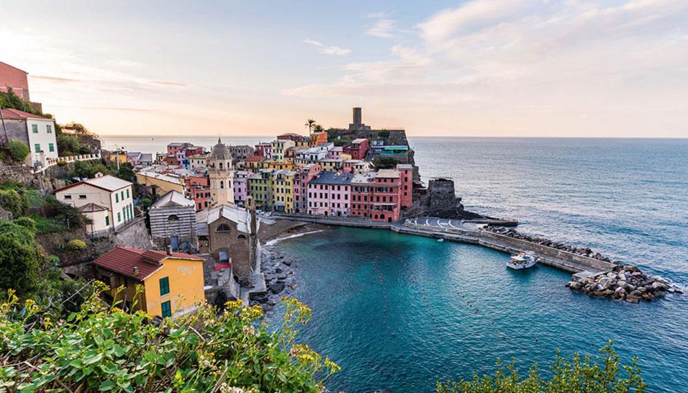 materrazza aperitivo Cinque Terre toscane port