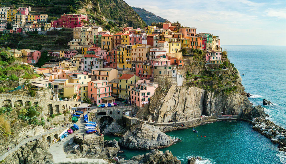 materrazza aperitivo Cinque Terre toscane