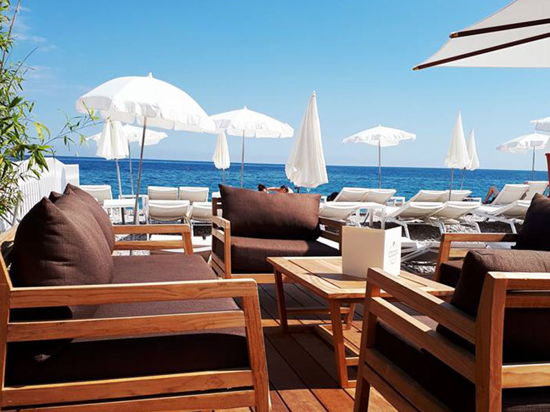 Cocoon Beach terrasse nice