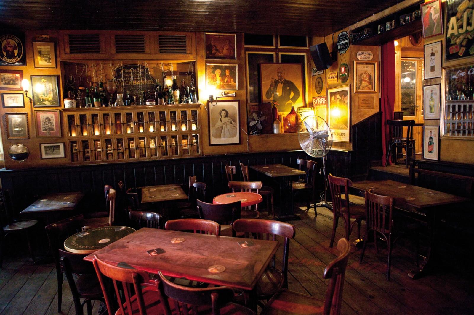 Le Café Brun  bar cosy bordeaux