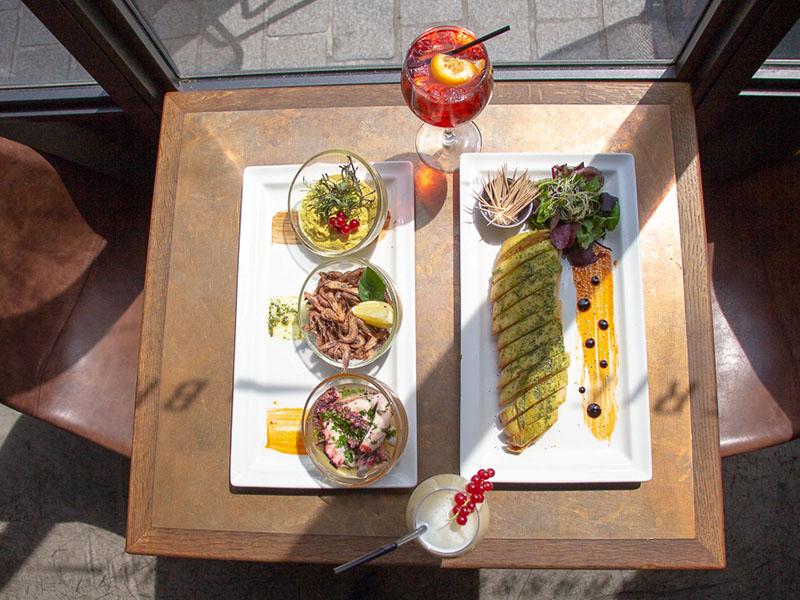 L'Octopus restaurant nantes plat