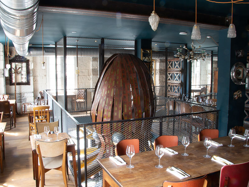 L'Octopus restaurant nantes etage