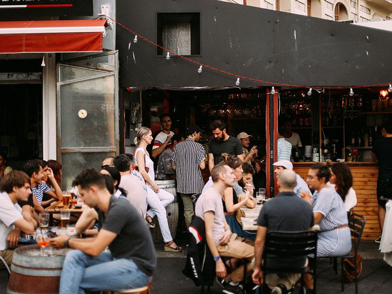 L'Altra Casa restaurant Nice terrasse