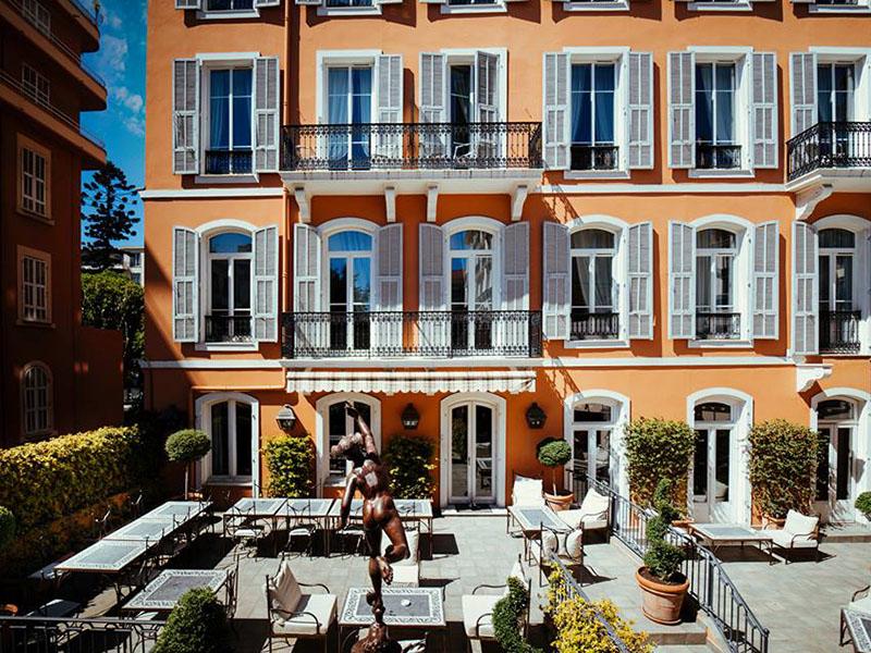 hôtel Ellington terrasse nice