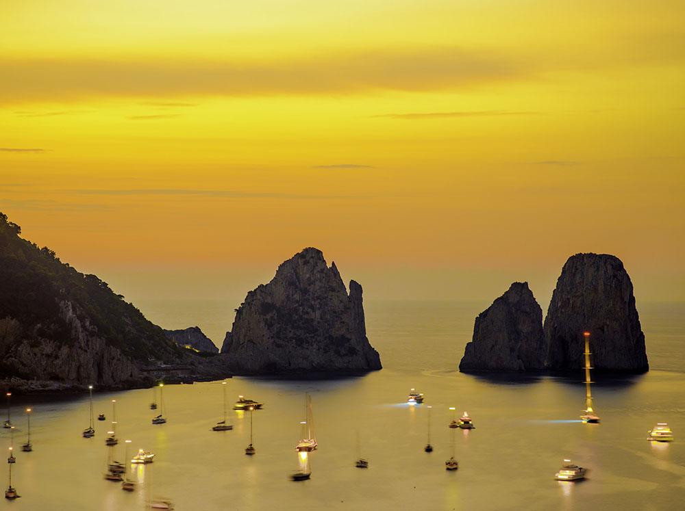 materrazza aperitivo couché de soleil Capri