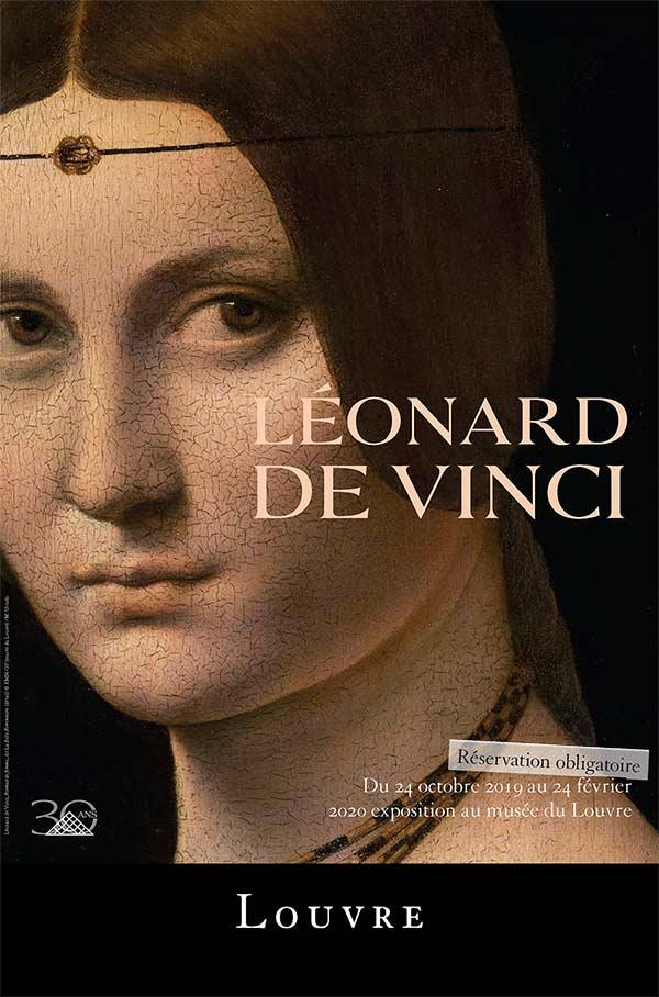 Leonard de Vinci au Louvre