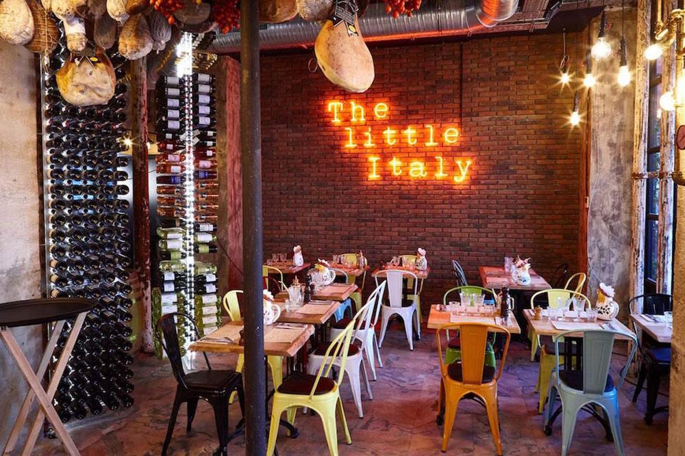 materrazza aperitivo little italy salle