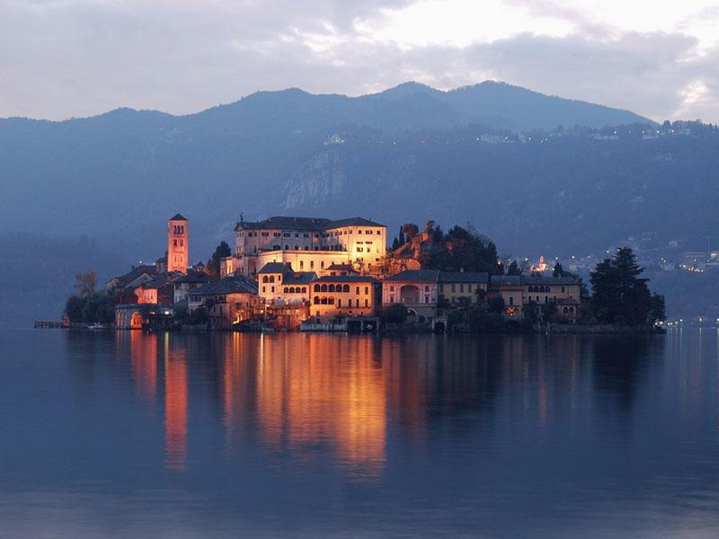 lac d'orta lac italie
