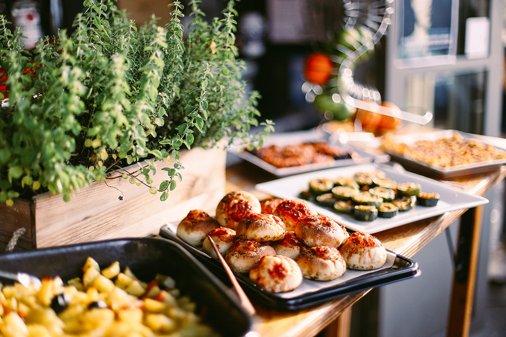 Paneolio buffet