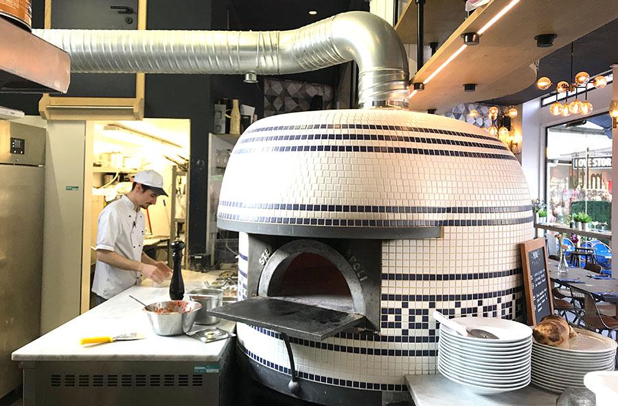 Milano-Torino MiTo strasbourg mosaique four pizza