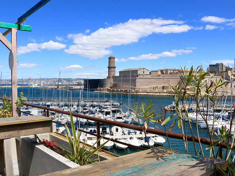Rowing rooftop marseille aperitivo