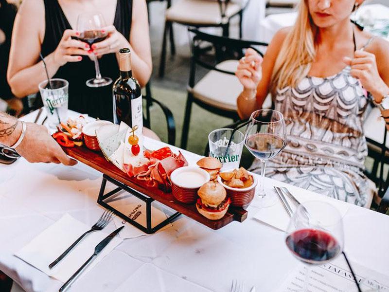 Le Métropolitan Nice planche aperitivo