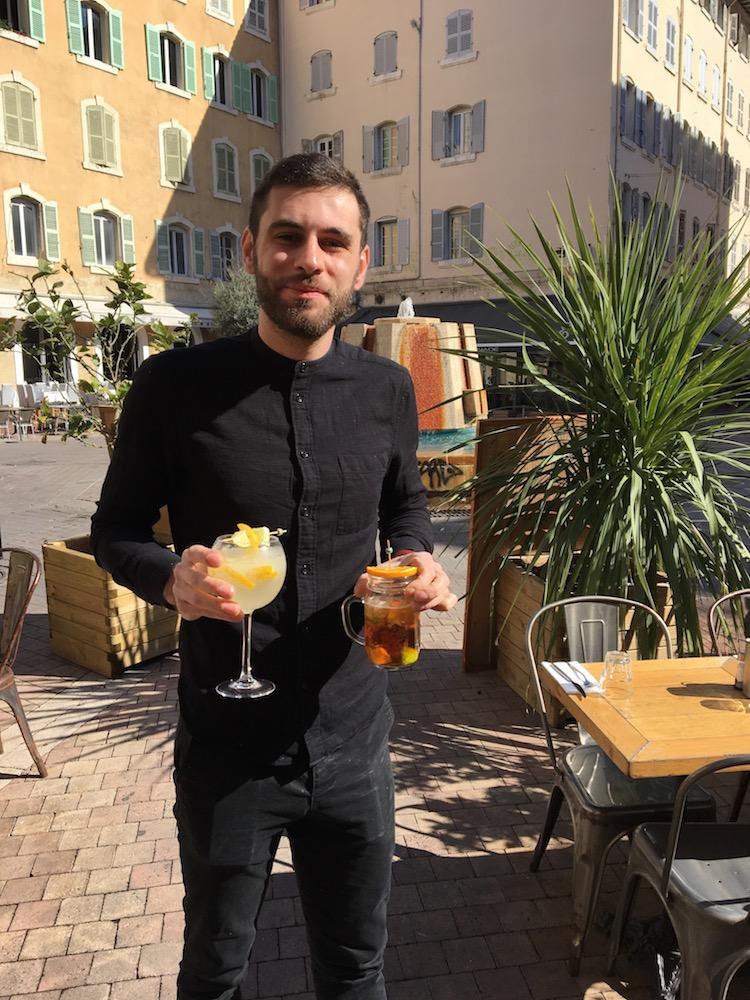 Fuxia Marseille fred bartender