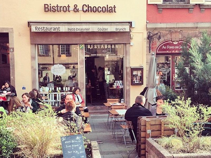 Bistrot et Chocolat terrasse strasbourg