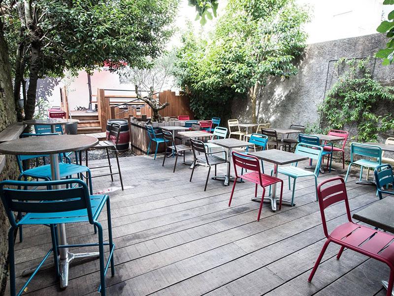le cafe sur cour Terrasse lille
