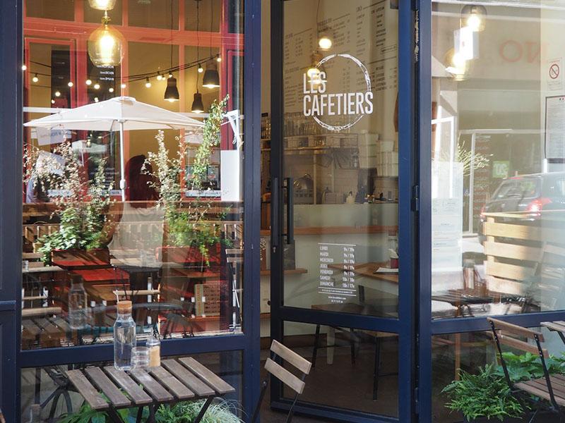 Terrasse Les Cafetiers Lyon