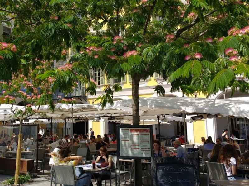 Campo Caffè terrasse nice