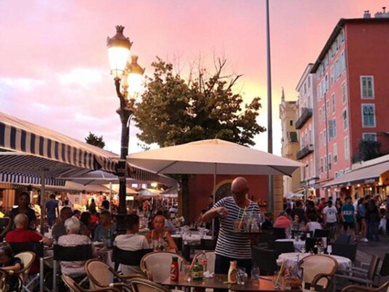La Civette du Cours terrasse nice