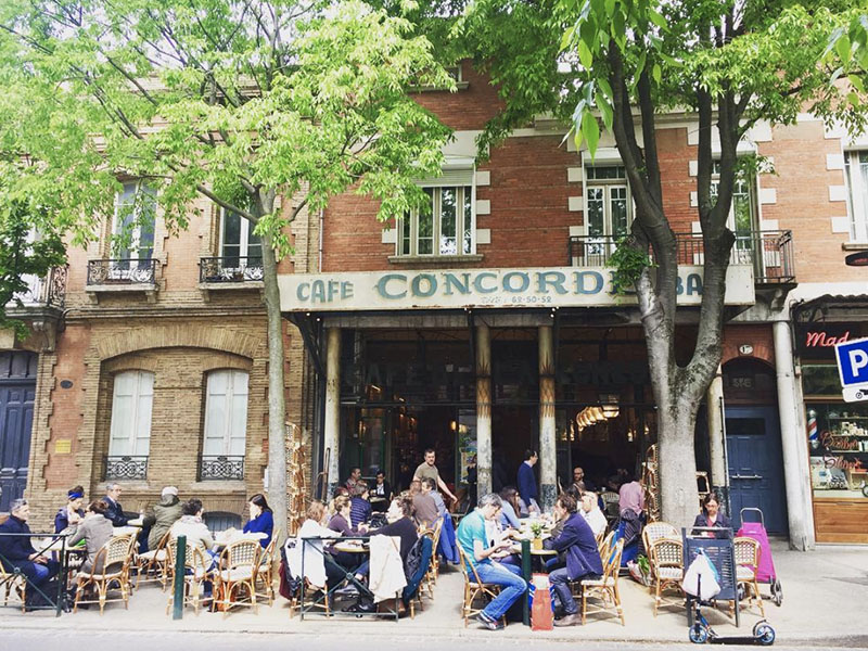 concorde cafe terrasse toulouse