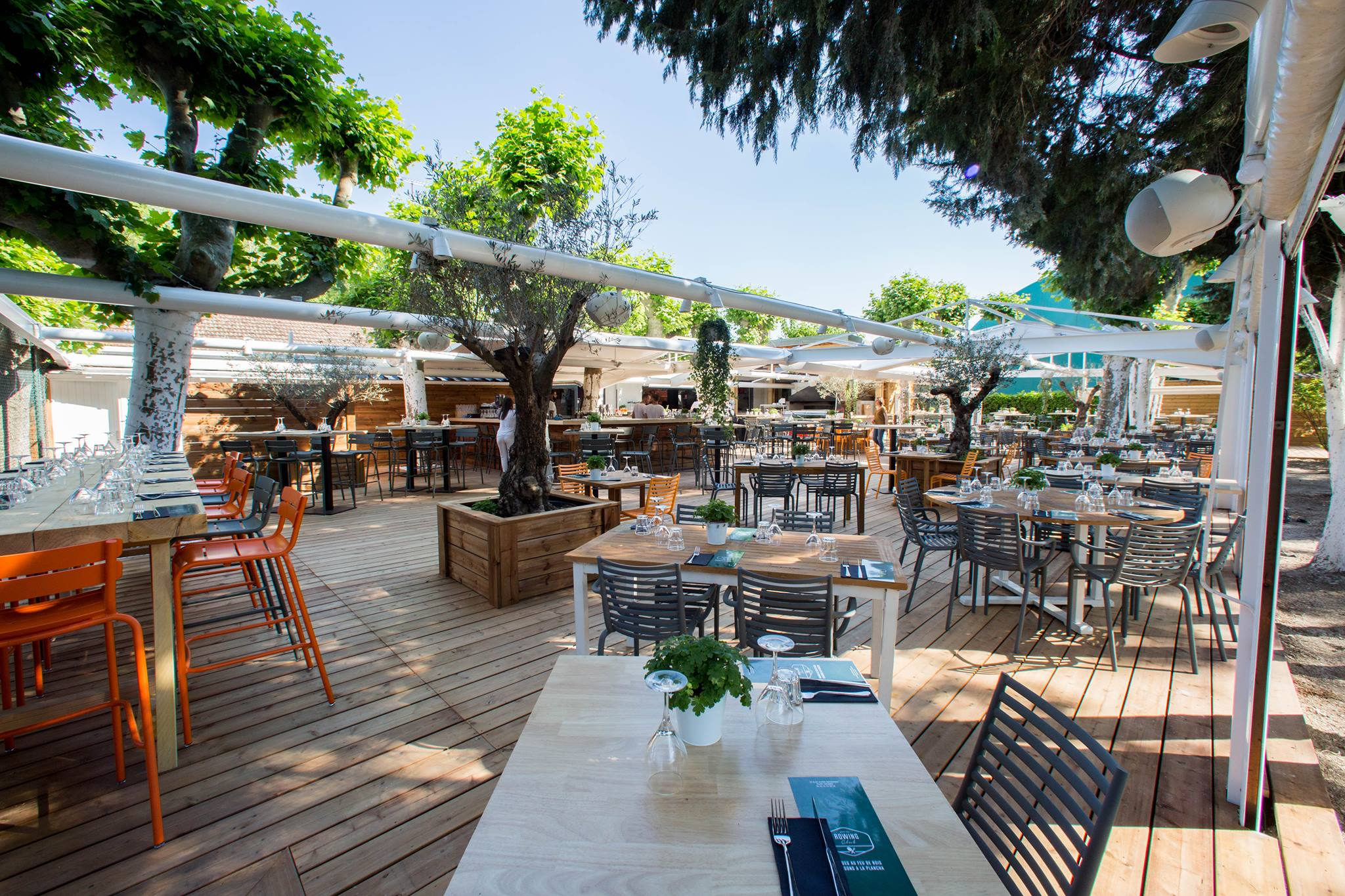 rowing club restaurant toulouse terrasse