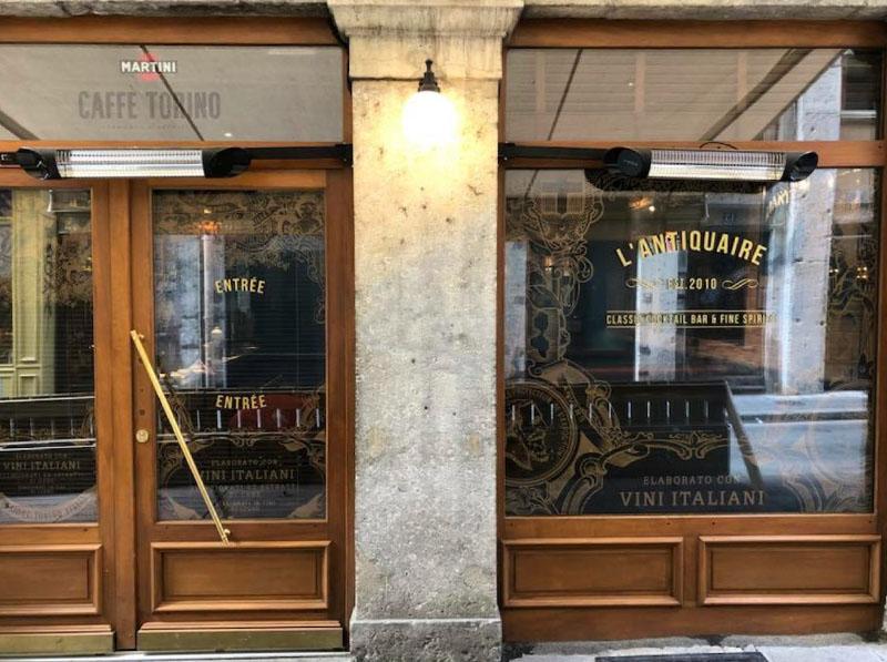 materrazza aperitivo l'antiquaire boutique