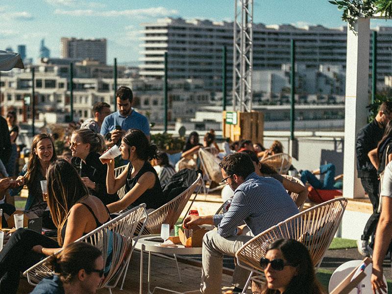 Le Jardin Suspendu rooftop terrasse