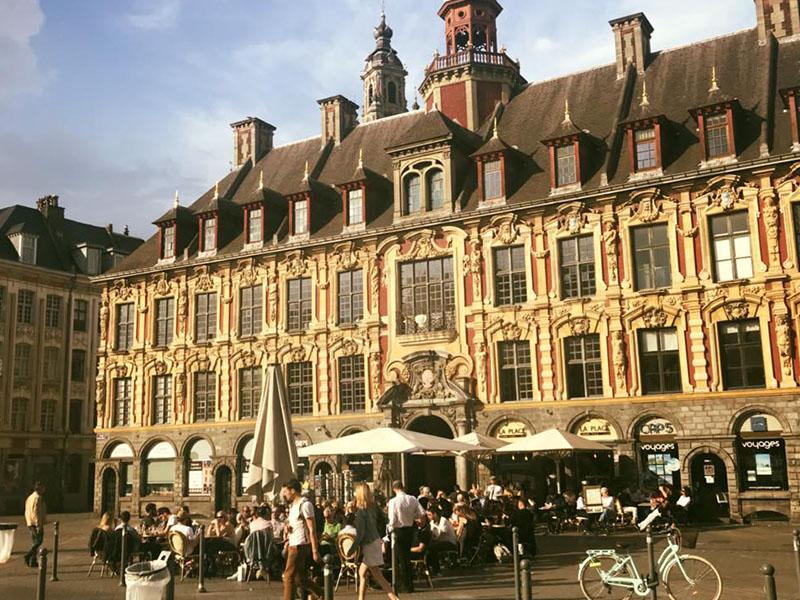 La Place terrasse lille