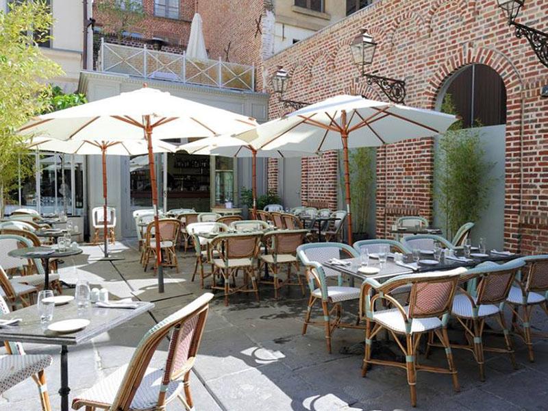 terrasse lille Chez Méert