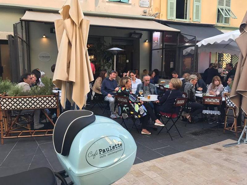 Cafe Paulette terrasse nice