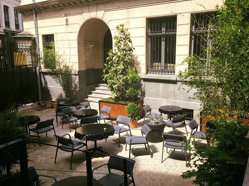 Le Coke restaurant lille terrasse