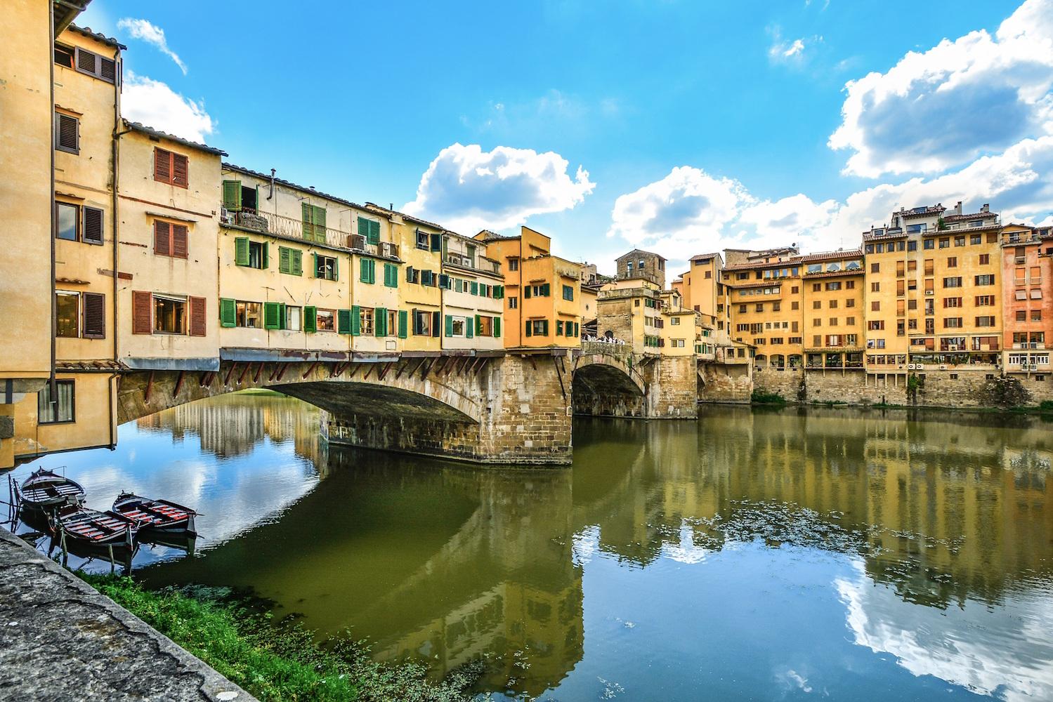 ponte vecchio italie toscane florence
