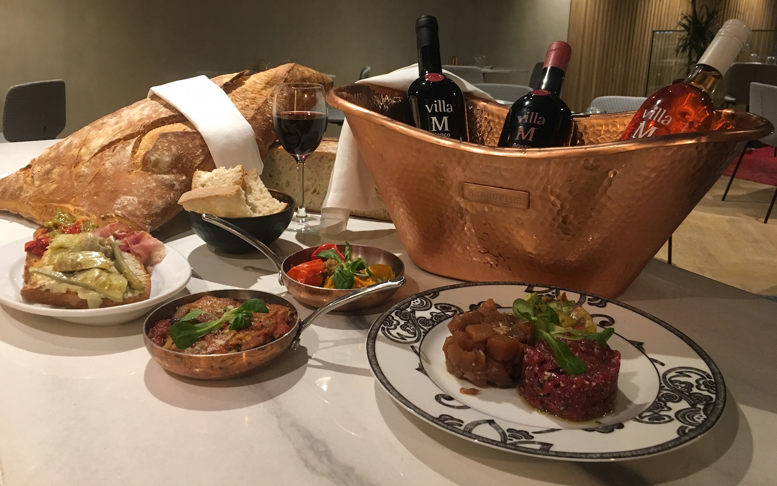 marcello italien restaurant cocktails bar