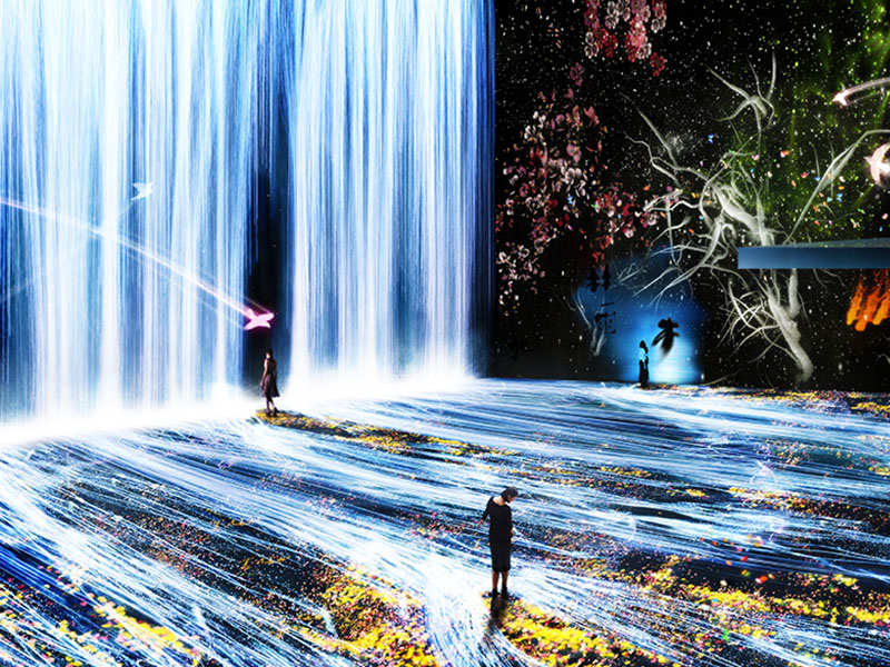 TeamLab exposition paris la villette
