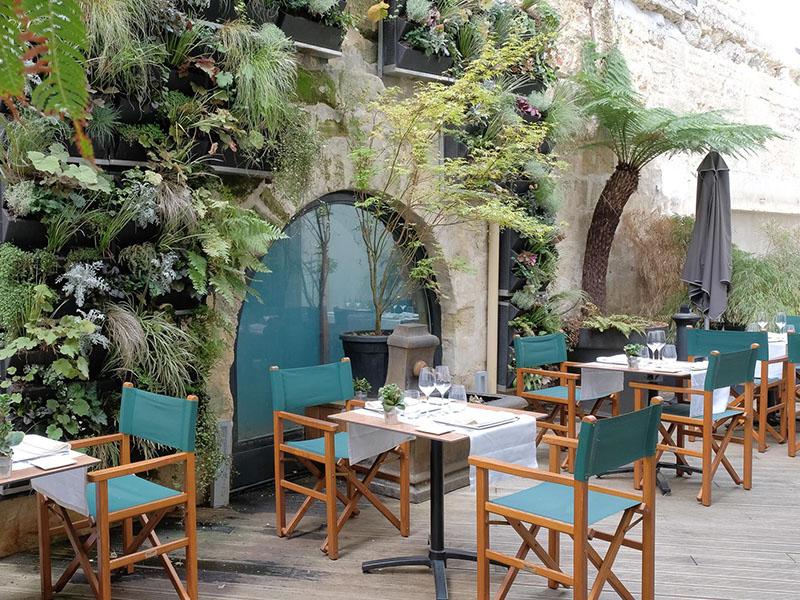 Tables Vatel terrasse bordeaux